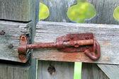 Rusty Old Latch — Stock Photo
