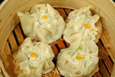 Steamed Dim Sums — Stock Photo