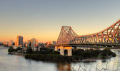 Story Bridge Brisbane — Stock Photo
