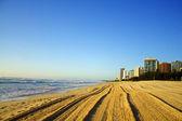 Surfers Paradise Beach — Stock Photo