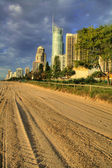 Surfers Paradise Foreshore — Stock Photo