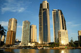 Surfers Paradise Skyline — Stock Photo