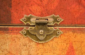 Tarnished Old Clasp — Stock Photo