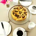 Chelsea Bun And Coffee — Stock Photo #11569557