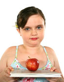 Child With Apple 2 — Stock Photo
