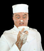 Shocked Chef — Stock Photo