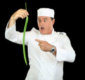 Snake Bean Chef — Stock Photo