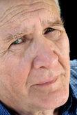 Worried Senior Man — Stock Photo