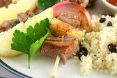 Beef Kebabs — Stock Photo
