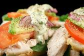 Chicken Finger Sandwich — Stock Photo