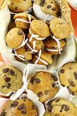 Choc Chip Muffins — Stock Photo