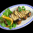 Stock Photo: Egg Plant And Beef Rolls 1