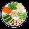 Healthy Enteraining Platter 1 — Stock Photo