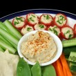 Stock Photo: Healthy Entertaining Platter 3