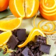 Orange And Chocolate — Stock Photo #11570713