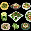Selection Of Salads — Stock Photo