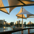 Shade Sails At Southport — Stockfoto