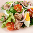 Tuna And Egg Salad — Stock Photo