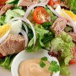 Tuna Salad And Dip - Stock Photo