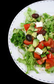 Feta Cheese Salad 1 — Stock Photo