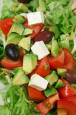 Feta Cheese Salad 2 — Stock Photo