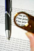 Fine Print 1 — Stock Photo