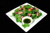 Lamb Salad 1 — Stock Photo