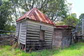 Ramshackle Farm Sheds — Stock Photo