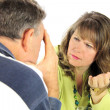 Arguing Middle Aged Couple — Stock Photo #11666023