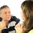 Arguing Couple — Stock Photo #11666027