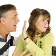Stock Photo: Couple Arguing