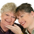 Mother And Daughter Laughing — Stock Photo #11666265