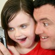 Father And Young Daughter 4 — Stock Photo
