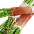 Asparagus With Prosciutto 2 — Stock Photo