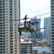 Blackhawk Chopper, Surfers Paradise, Australia — Stock Photo