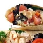 Chicken Salad Wrap 3 — Stock Photo #11667052