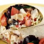 Chicken Salad Wrap 4 — Stock Photo #11667055