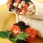 Chicken Salad Wrap 5 — Stock Photo #11667057