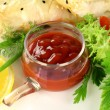 Stock Photo: Chilli relish