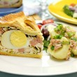 Ham And Egg Pie — Stock Photo #11667504