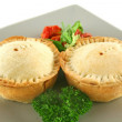 Homemade Beef Pies — Stock Photo #11667584