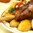 Lamb Leg — Stock Photo