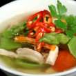 Low Carb Chicken And Vegetable Soup 2 — 图库照片