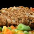 Meatloaf And Vegetables 4 — Stock Photo