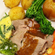 Roast Lamb — Stock Photo