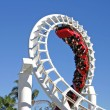 Stock Photo: Roller Coaster 1