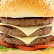 Stock Photo: Triple Burger