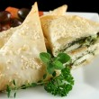 Royalty-Free Stock Photo: Spinach And Feta Parcels