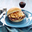Steak And Onion Burger — Stock Photo #11668542