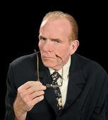 Glaring Businessman — Stock Photo